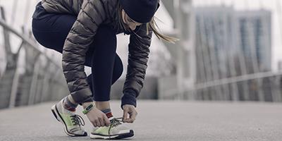 Girl on a run